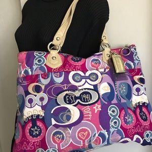Coach Bags - Coach Multi Color Shoulder Bag